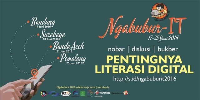 "Field Report Ngabubur-IT ""Pentingnya Literasi Digital"""